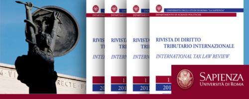 Rivista di diritto tributario internazionale = International tax law review